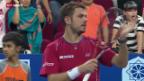 Video «Tennis: ATP Kuala Lumpur, Wawrinka - Tursunow» abspielen