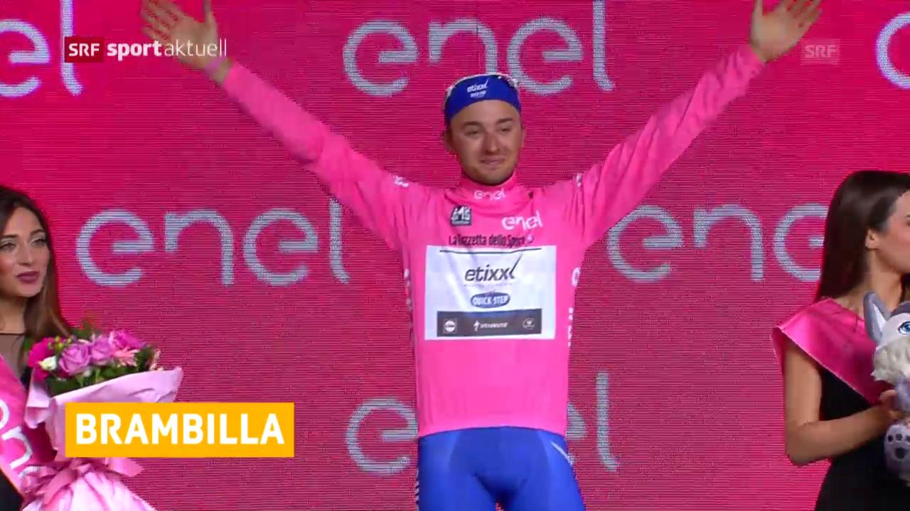Leaderwechsel im Giro