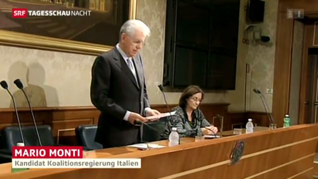 Monti tritt zur Wahl an