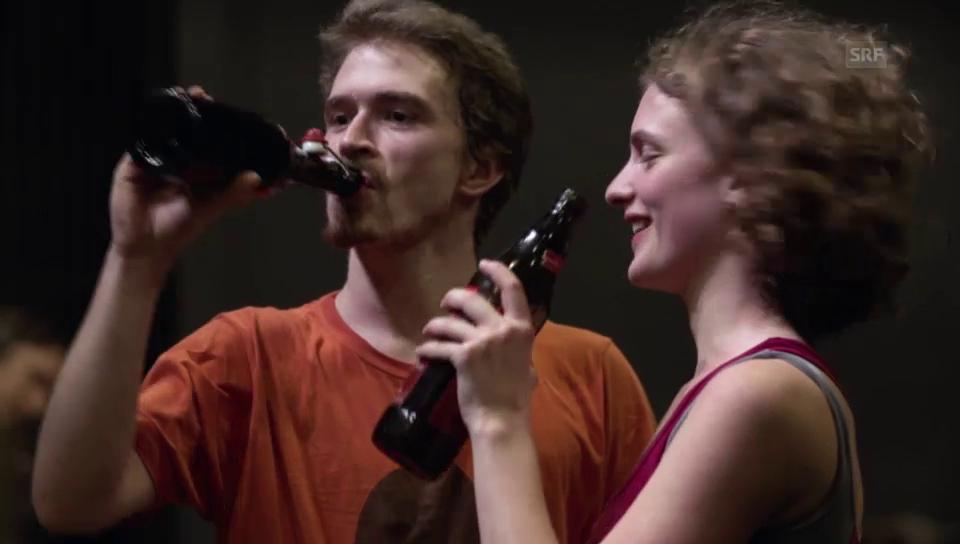 1. Jahr: Antonia und Lion improvisieren.