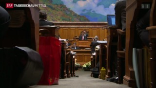 Video «Nationalrat lehnt Erbschaftssteuerabkommen ab» abspielen