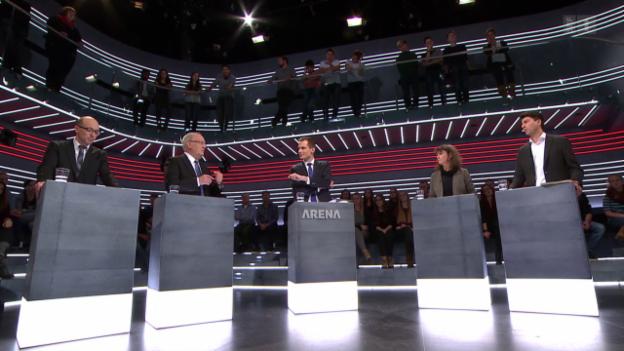 Video «Abstimmungs-Arena: Initiative gegen Nahrungsmittelspekulation» abspielen