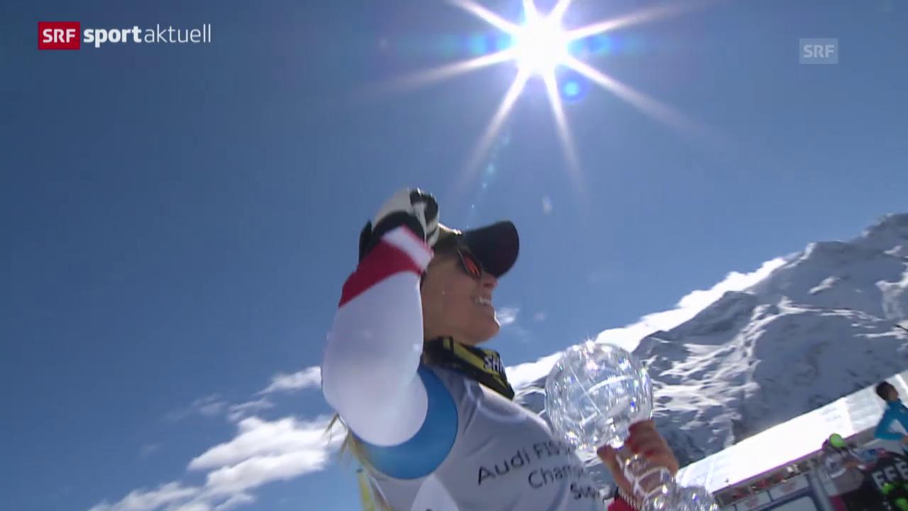 Lara Gut überstrahlt in St. Moritz alle