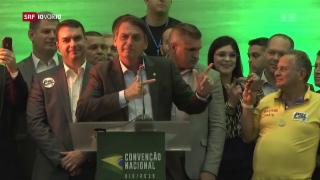 Video «FOKUS: Der Trump Brasiliens?» abspielen
