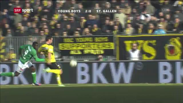 Fussball: YB - St.Gallen («sportpanorama»)