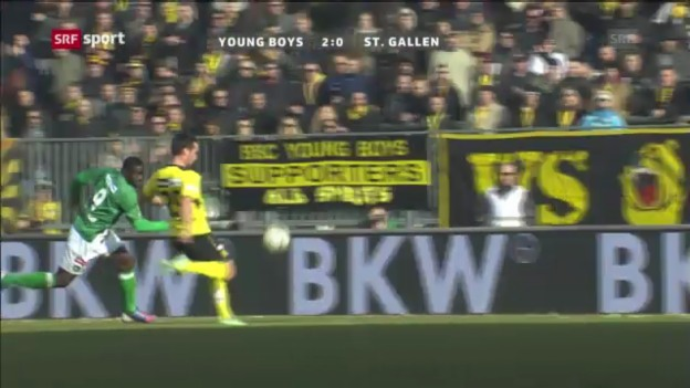 Video «Fussball: YB - St.Gallen («sportpanorama»)» abspielen