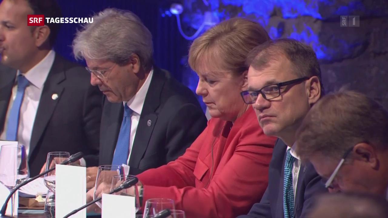 Der EU-Gipfel beim digitalen Musterschüler