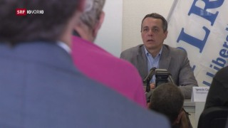 Video «FOKUS: Vorstand der Tessiner FDP schlägt Ignazio Cassis vor» abspielen