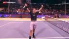 Video «Wawrinka gelingt Saison-Auftakt – Federer scheitert» abspielen