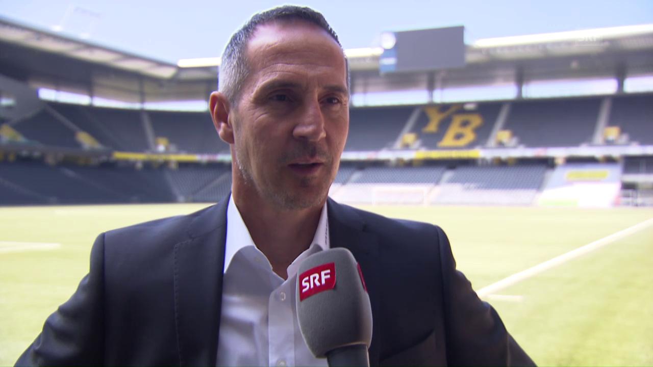 Adi Hütter über sein junges Team