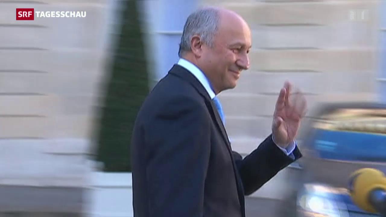 Aussenminister Fabius tritt zurück
