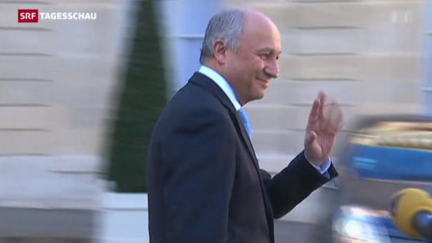 Video «Aussenminister Fabius tritt zurück» abspielen