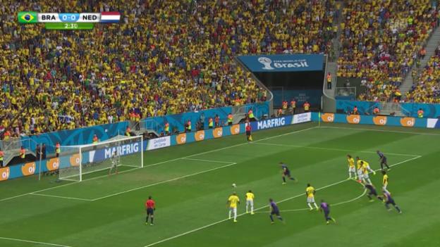 Video «Brasilien - Niederlande: Die Live-Highlights» abspielen