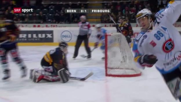 Video «NLA: Bern - Fribourg» abspielen