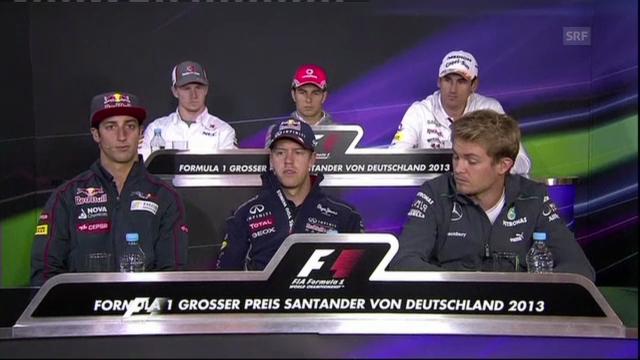 Sebastian Vettel über die Reifen-Krise