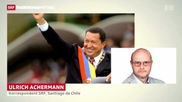 Video «SRF-Korrespondent Ulrich Achermann» abspielen