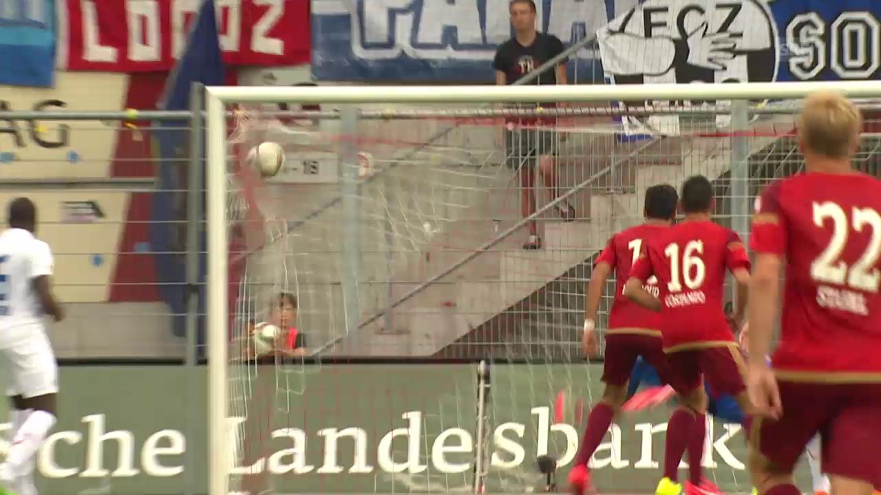 Fussball: Super League, Traumtor Muntwiler Vaduz - FCZ