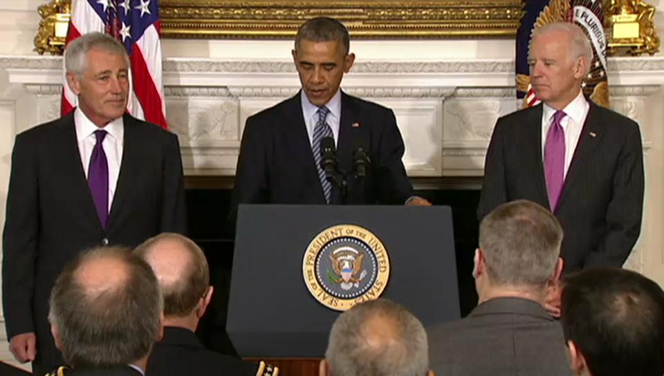 Obama würdigt Chuck Hagel
