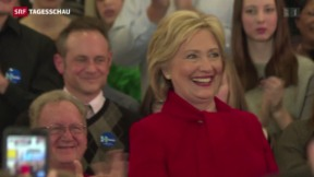 Video «Hillary Clinton unter Druck» abspielen