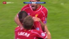 Video «Fussball: Champions League, Liverpool - Ludogorets» abspielen