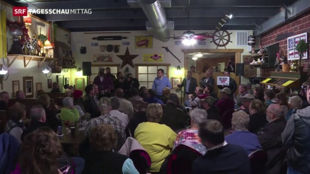 Video «Vorwahlen in Iowa haben begonnen» abspielen