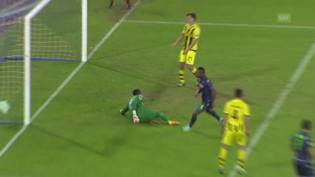 Video «Fussball: Europa League, Napoli - Young Boys» abspielen