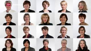 Video «Rückblick Wintersession und Frauen im Parlament – die Umfrage» abspielen