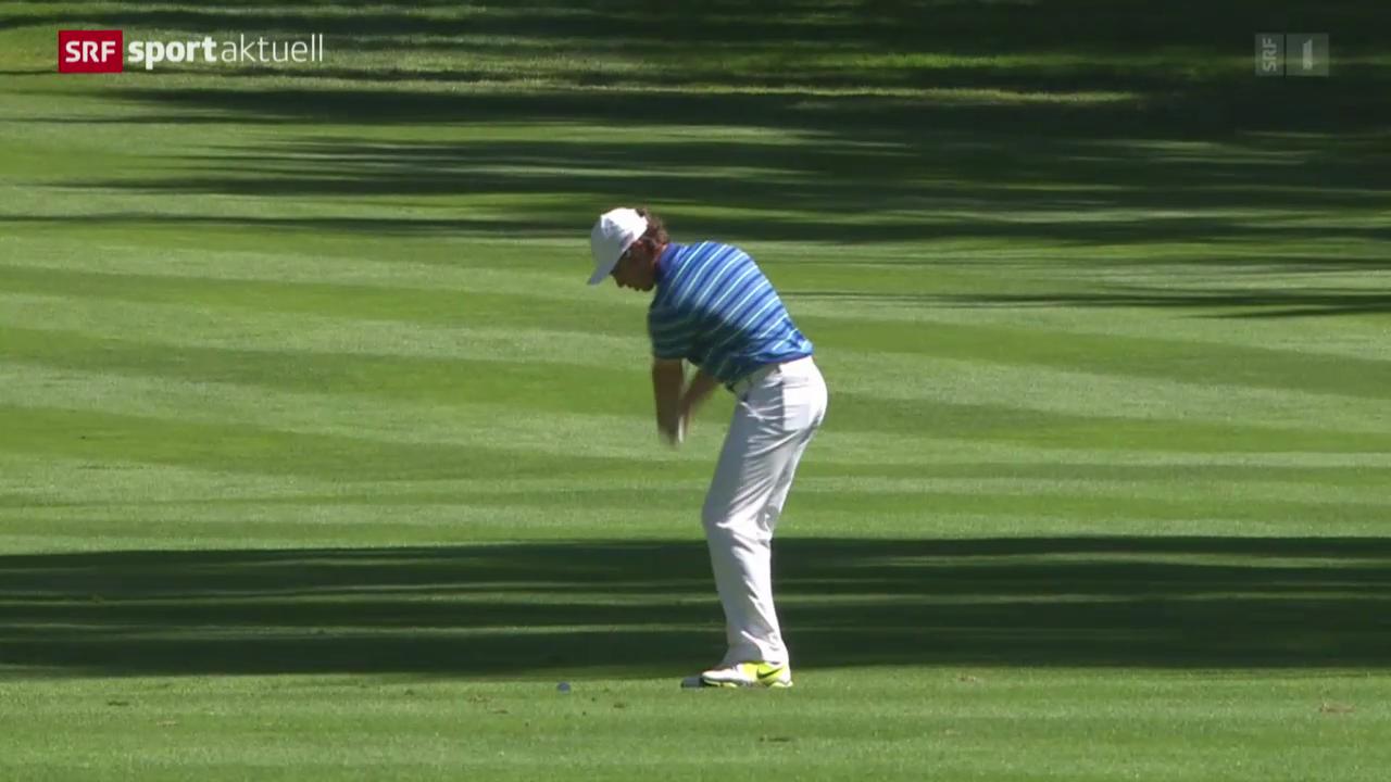 Golf: European Masters in Crans-Montana