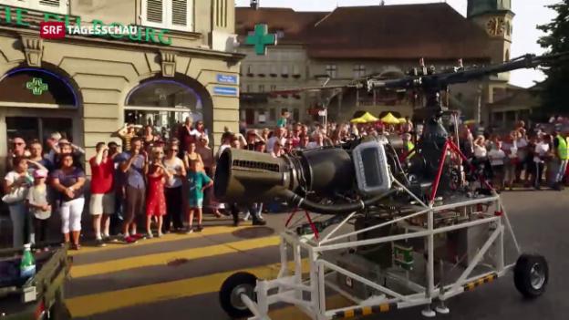 Video «Zum 25. Todestag: Freiburg feiert Jean Tinguely» abspielen