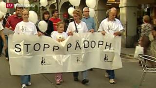 Video «Parlament verabschiedet Gegenvorschlag zur Pädophilen-Initiative» abspielen