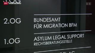 Video «Asylverfahren sollen kürzer werden» abspielen
