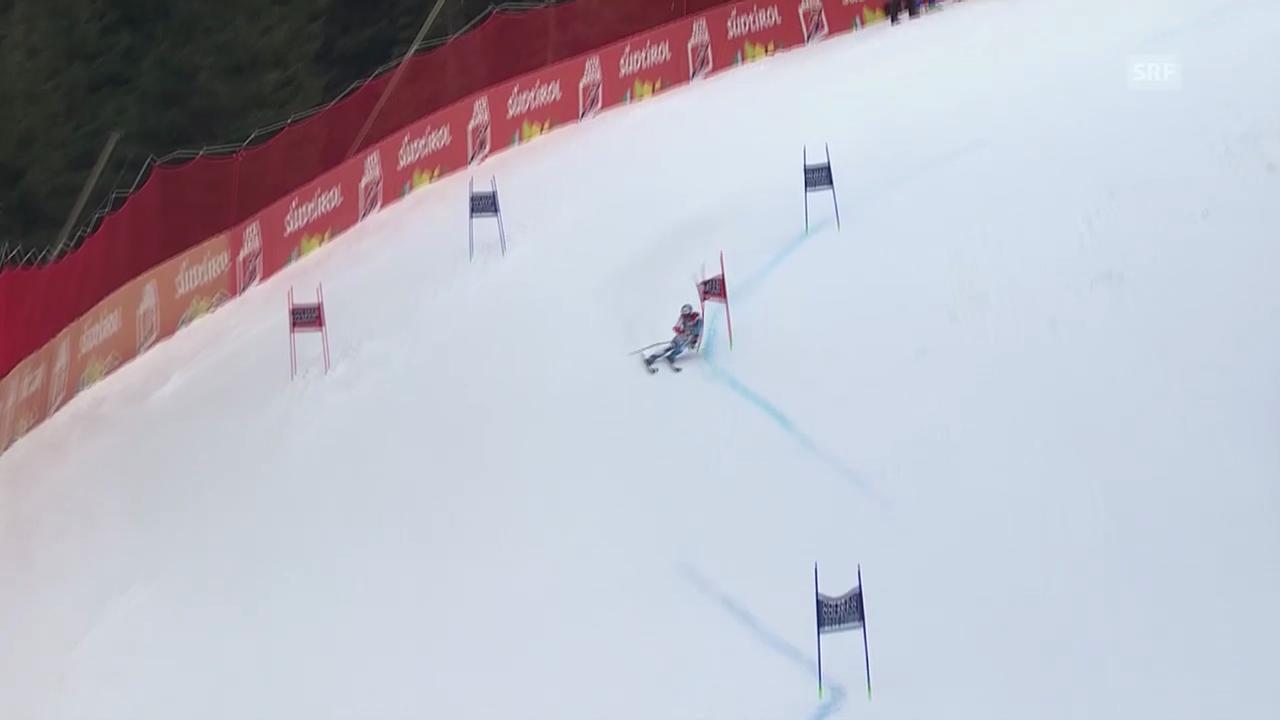 Ski Alpin: Abfahrt Männer in Alta Badia, 1. Lauf von Défago («sportlive», 22.12.2013)