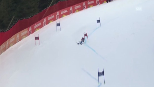 Video «Ski Alpin: Abfahrt Männer in Alta Badia, 1. Lauf von Défago («sportlive», 22.12.2013)» abspielen