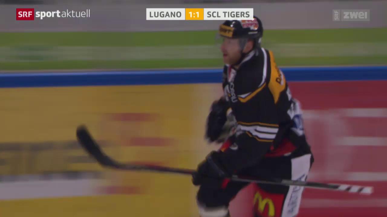 Eishockey: NLA, Tor Klasen