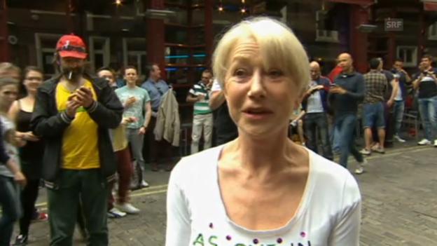 Video «Helen Mirren über ihren Wutausbruch» abspielen
