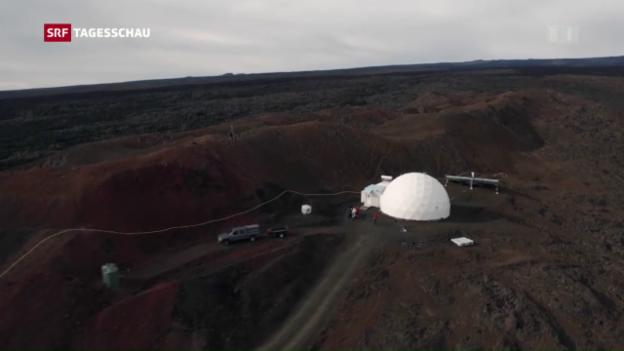 Video «Mars-Experiment nach einem Jahr beendet» abspielen