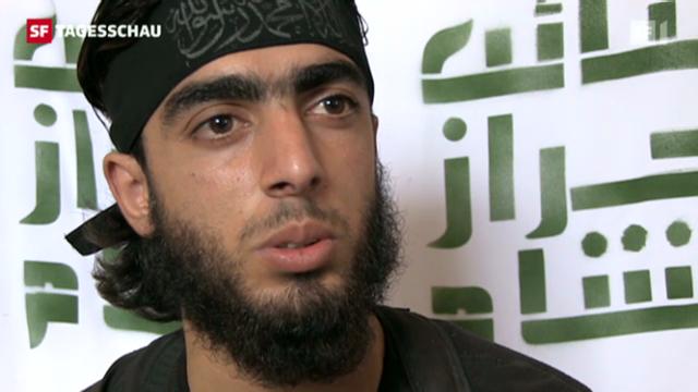 Salafisten greifen in den syrischen Bürgerkrieg ein