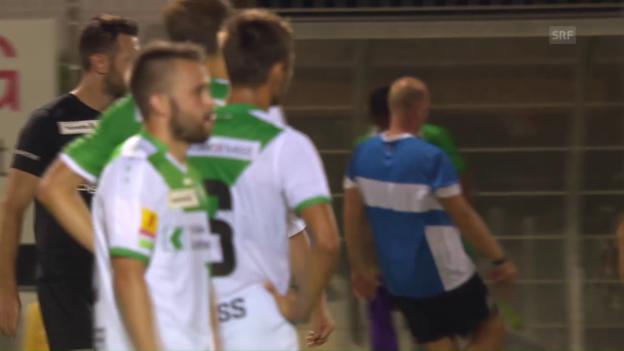 Video «Zitterpartie für den FC St. Gallen» abspielen