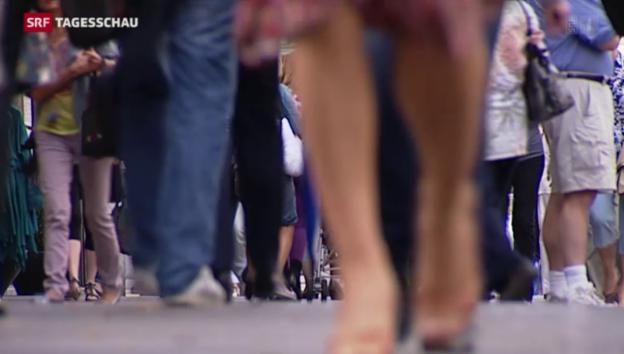 Video «Leichter Rückgang bei der Zuwanderung» abspielen