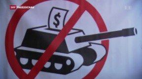 Video «Bundesrat will Regeln von Waffenexporten lockern» abspielen