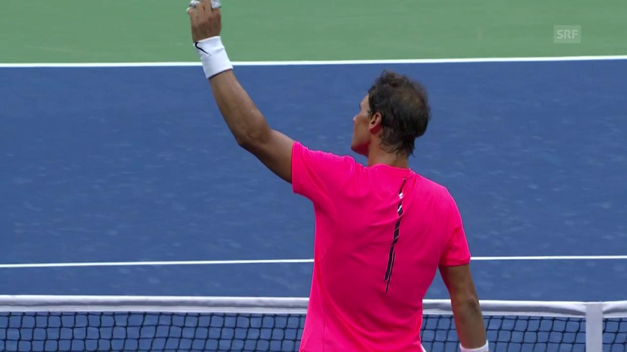 Nadal - Lajovic: Die Live-Highlights