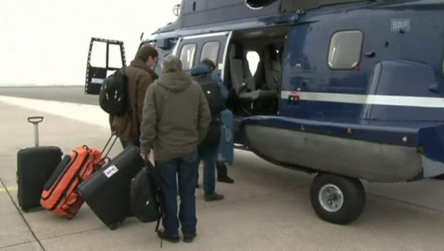 Video «Deutsche Untersuchungsbehörden auf dem Weg nach Frankreich» abspielen
