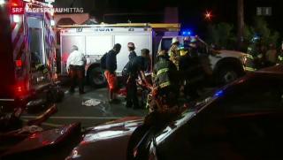 Video «Fünf Tote bei Zugunglück in den USA» abspielen