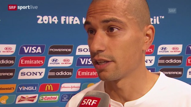 Video «FIFA WM 2014: Interview mit Gökhan Inler» abspielen