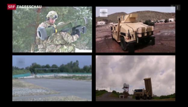 Video «USA sendet Kriegsmaterial» abspielen