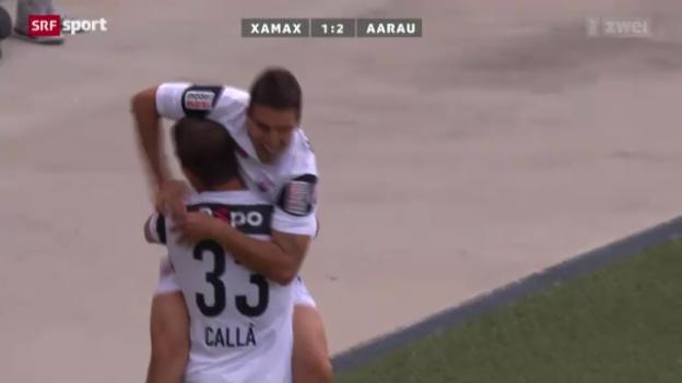 Video «Fussball: Xamax - Aarau» abspielen