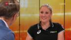 Video «Daniela Ryf im «sportpanorama»: «Wer nichts macht, rostet ein»» abspielen