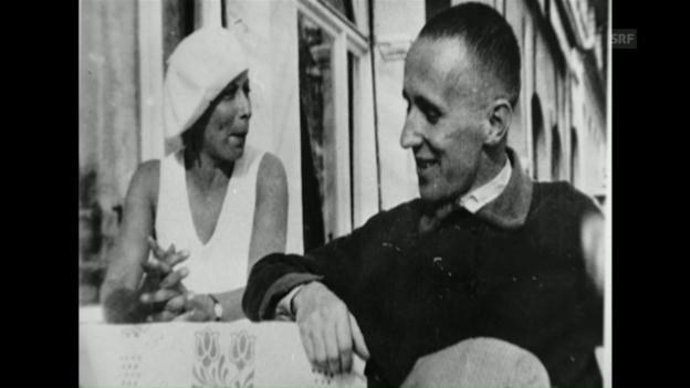 Video «Bertolt Brecht und die Schweiz (kulturzeit, 29.4.2004)» abspielen