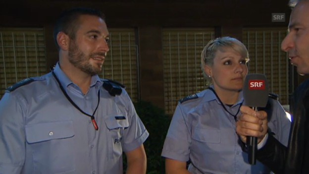 Video «Mit der Polizei unterwegs» abspielen