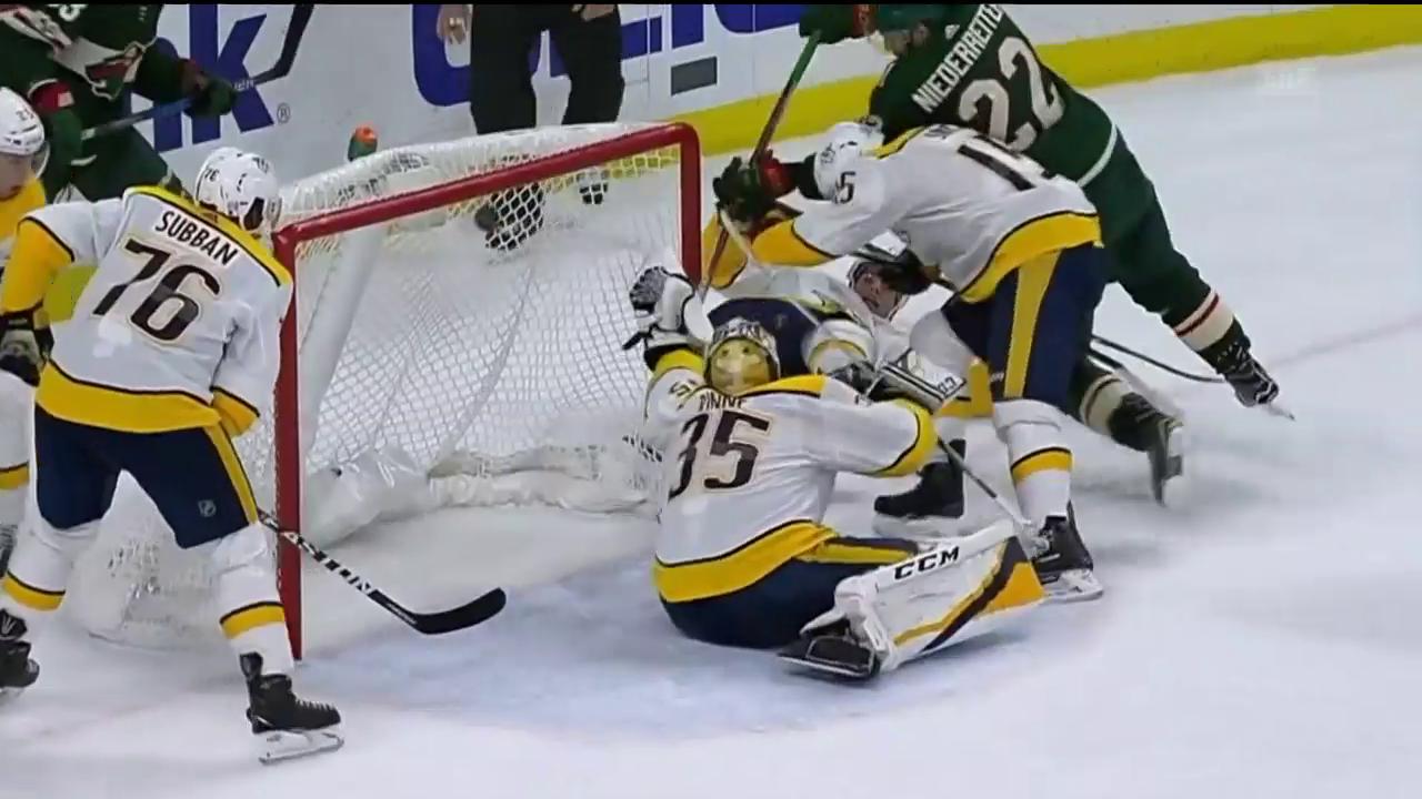 Minnesota wendet das Spiel gegen Nashville
